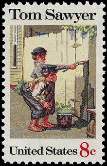 Tom_Sawyer_8c_1972_issue_U.S._stamp
