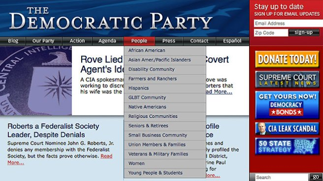 democrat-website